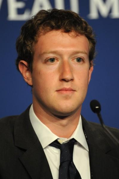Mark Zuckerberg beim G8 Gipfel in Deauville, Frankreich