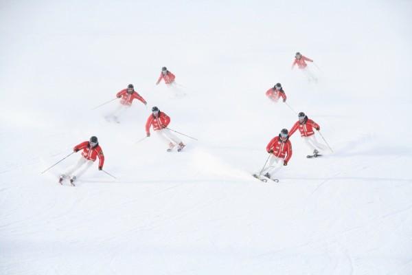 Synchron Skifahren Synchro Team Germany Mario Sigl