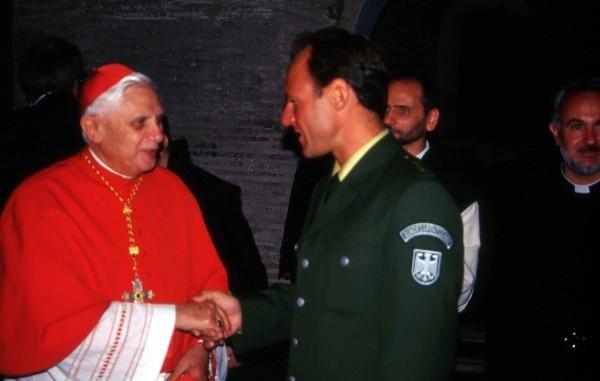 mit Papst Benedikt-Rom