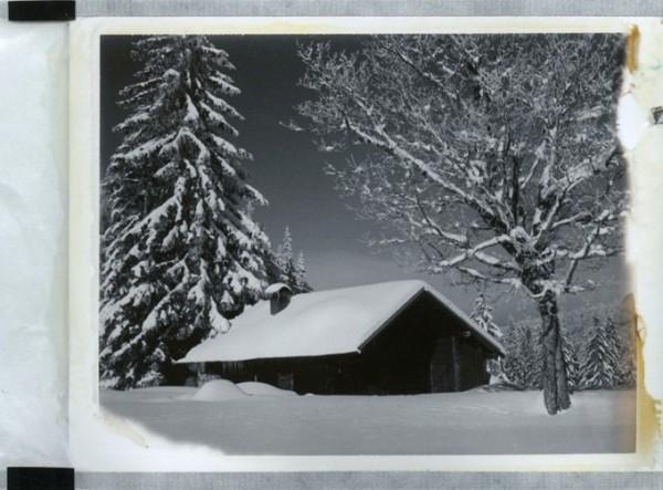 (Converted Polaroid 110a Pathfinder Kamera, abgelaufener Polaroid 664 Film)