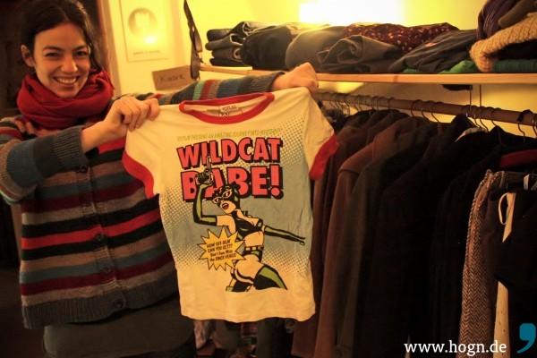 Echt coole second hand Mode gibts bei Andrea im besserwisser Laden