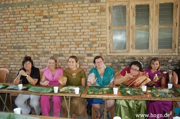 Freunde in Indien