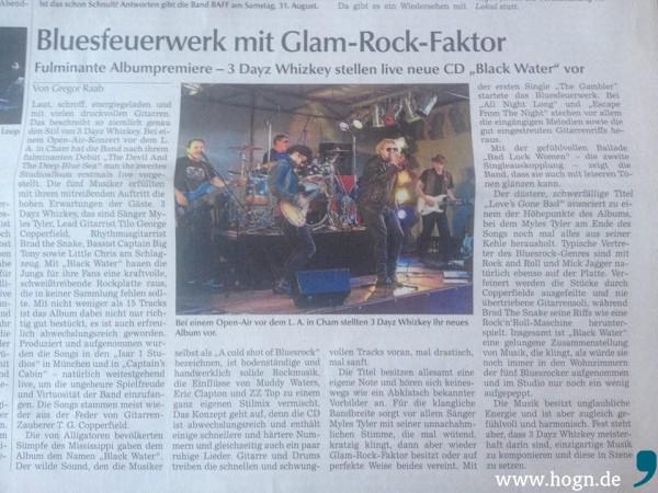 Chamer Zeitung 3 Dayz Whizkey Rezension