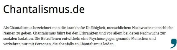 chantalismus
