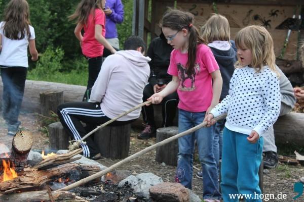 Wildniscamp Lagerfeuer