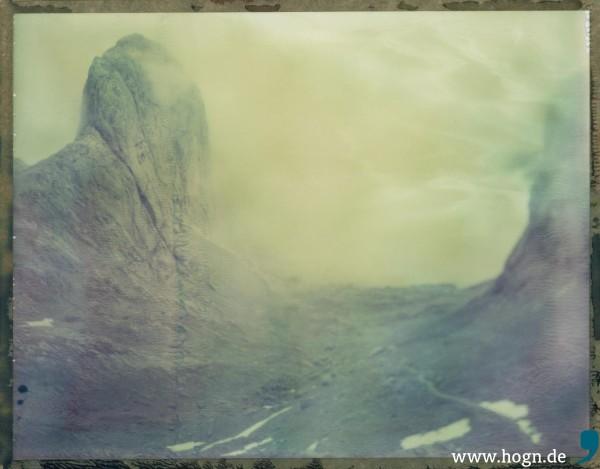 Dichter Neben Dichter Nebel schon bei der Anfahrt. Umso schöner, wenn er sich lichtete...