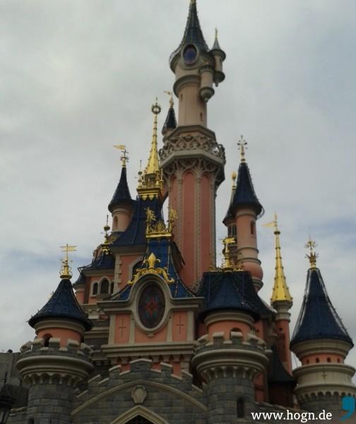Disney Schloss im Disneyland