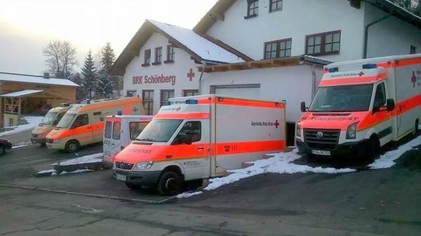 BRK Rettungsdienst Sanka Schönberg