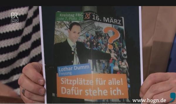 Grünwald_Freitagscomedy_Wahlplakat_Dumm