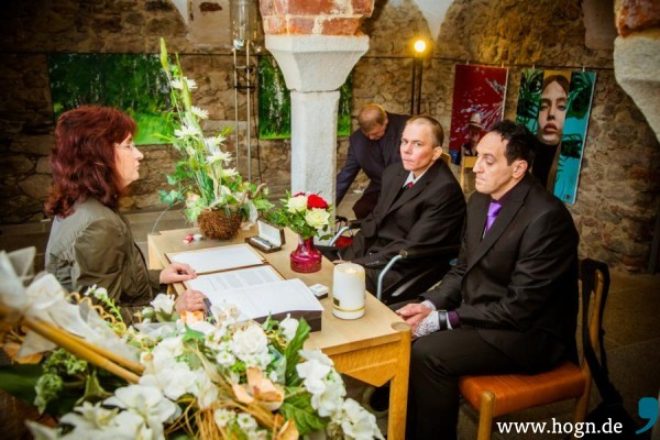 Lothar Becker Ronny Heinz Hinterschmiding Aschenbrenner Hochzeit