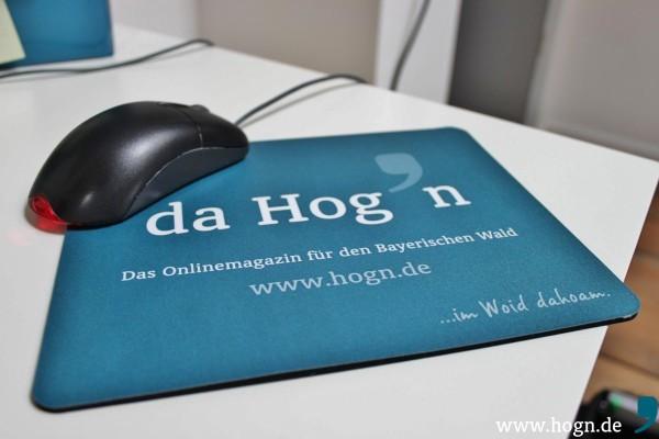 Da rutscht die Mouse schön drüber: Unser neues Produkt, exklusiv für alle Hog'n-Freunde.