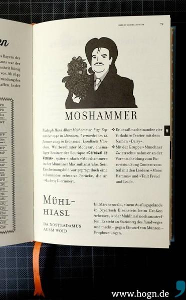 Zwei durchaus erwähnenswerte Männer: Moosi aus Oberbayern und der Mühlhiasl ausm Woid...