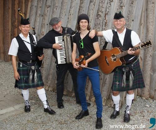 Schottisch wird's mit MacC&Celtic Four. Foto: WoidWejd