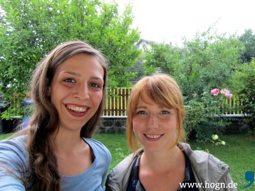 Samira Brandl (links) und Nadine Schwarz wollen