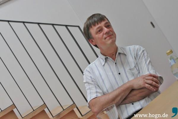 ITB-Chef Thomas Schempf ist hinsichtlich der Zukunft der Ilztalbahn absolut zuversichtlich. Foto: da Hog'n