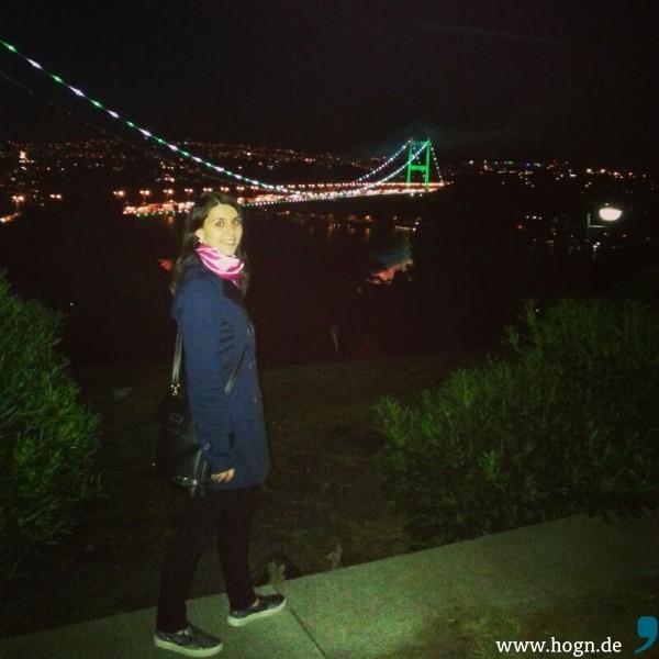 Yesims Lieblingsort in ihrer neuen Heimat: Der Bosporus.