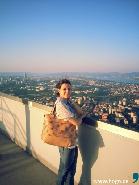 Blick über Istanbul -