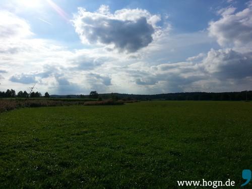 Hier ist der Autor daheim: In der schönen Holledau, bekannt auch unter dem Namen Hallertau.
