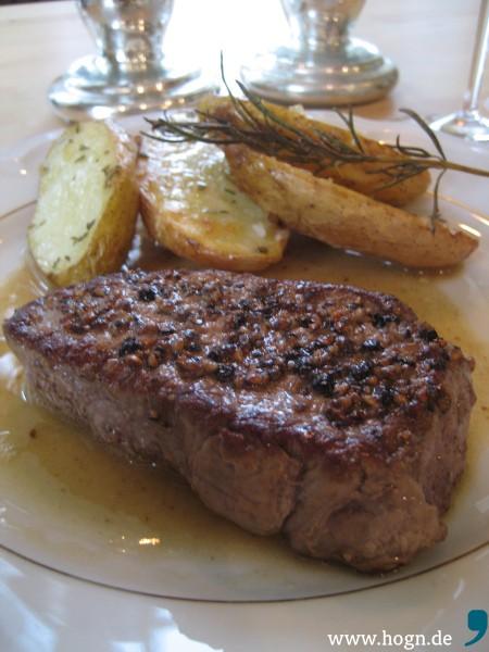 Leider verboten: Medium gebratenes Steak...