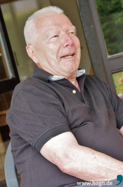 Karl Schönberger (72) erlebt seine neue Aufgabe und die spannenden Begegnungen als Geschenk