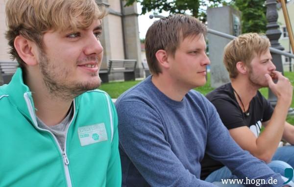 Metapher - das sind Christoph Umseher, Simon Rieger und Martin Stampka.