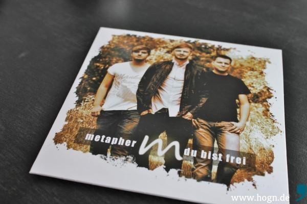 Die Promo-CD der Band. Damit wollen sie bei den Radio-Musikredaktionen vorstellig werden.