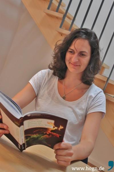 """Die Autorin und ihr Werk: """"Ich wollte schon immer mal ein Buch schreiben."""""""