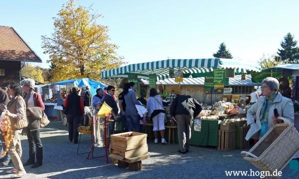 Markttreiben beim Kirchweih Kirta