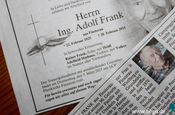 Aus der Passauer Neuen Presse, Lokalteil Freyung, vom 3. März - leider beide Berichte. Quelle/Screenshot: ePaper PNP
