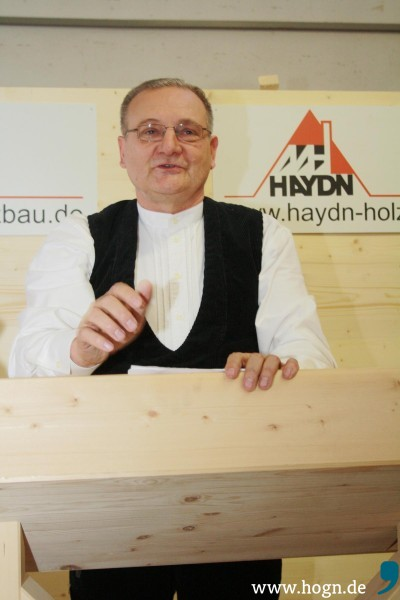 Haydn Holzbau Auszeichnung Röhrnbach März 2015