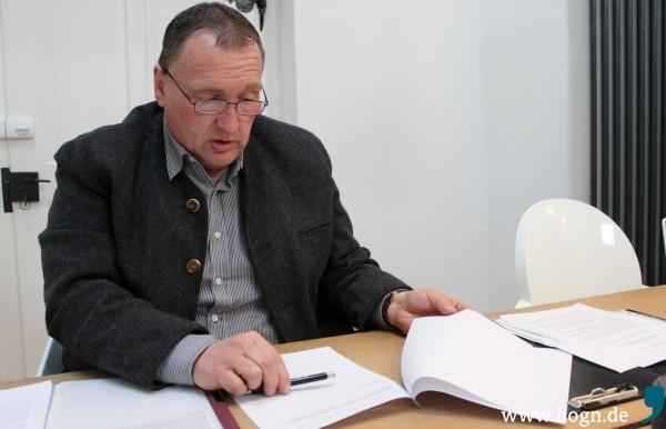 Der Regener Unternehmer Willi Wittenzellner in Folge der Anschuldigungen mehrere Anzeigen erstattet.