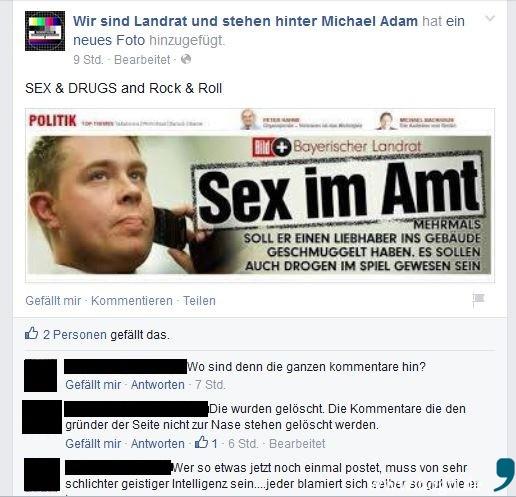 """Aufgewärmte Suppe schmeckt nicht! """"Sex & Drugs and Rock & Roll"""" - unter diesem Titel postete Thomas Kreuzer-Weyermann am 24. März dieses Bild ..."""