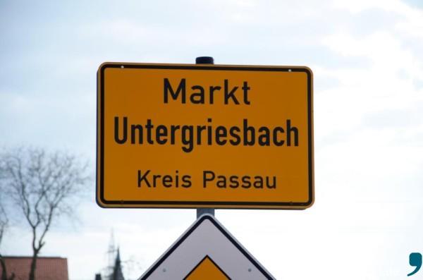 Untergriesbach im Landkreis Passau.