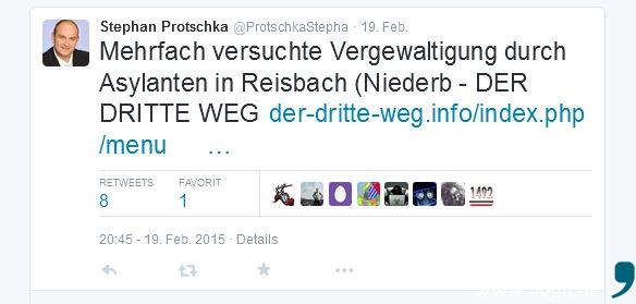 Stephan_Protschka_Twitter_Tweet_Reisbach_Vergewaltigung