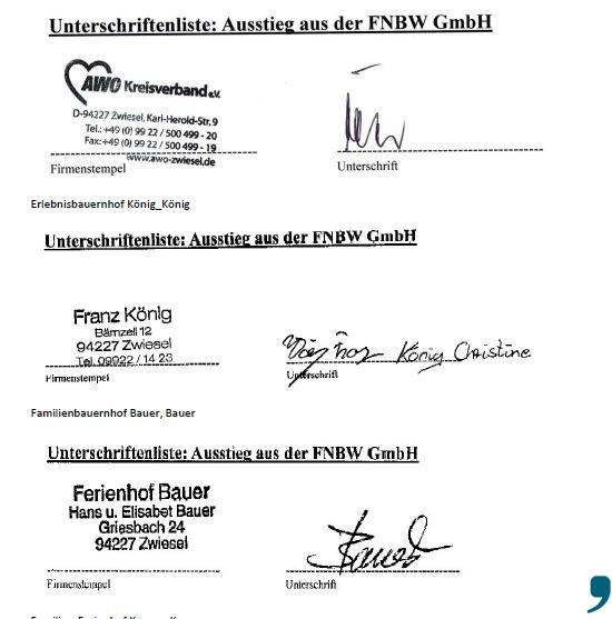 Unterschriftenliste_Zwiesel