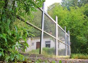 Direkt oberhalb der Bundeswehr-Kaserne gelegen, befindet sich jenseits der B12 das ehemalige Munitionslager der Freyunger Militär-Einrichtung. Heute wird das Areal, das künftig als Freizeitgelände genutzt weden könnte, bereits gerne von Hundehaltern zum Ausführen ihrer Vierbeiner sowie Schwammerlsammlern aufgesucht.     Direkt oberhalb der Bundeswehr-Kaserne hinter diesem Zaun gelegen, befindet sich jenseits der B12 das ehemalige Munitionslager der Freyunger Militär-Einrichtung. Dieses Areal könnte künftig als Freizeitgelände genutzt werden.