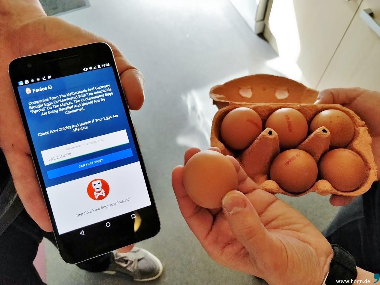 sind auch bio eier vom skandal betroffen